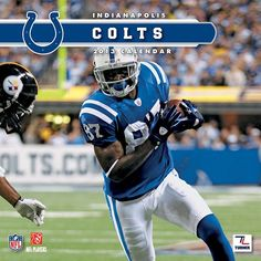 Indianapolis Colts Mini Wall Calendar: Specially designed for the die-hard Indianapolis Colts fan, Turner Licensing presents the ultimate 2013 NFL mini wall calendar! Your favorite players are displayed in vivid action-packed images along with player bios, NFL trivia and noteworthy historical dates every month.  $8.99  http://calendars.com/Indianapolis-Colts/Indianapolis-Colts-2013-Mini-Wall-Calendar/prod201300001493/?categoryId=cat00494=cat00494#