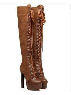 Designed Campus High-heels-boot - stylishplus.com