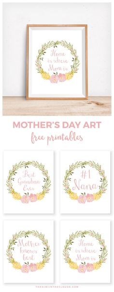 10 Sweet Motheru0027s Day Printables Arrow, Printing and Free - mothers day card template