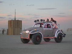Giant VW bug at Burning Man