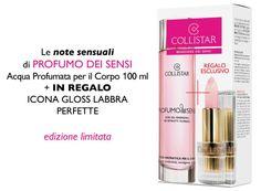 Profumo dei Sensi + in regalo Icona Gloss Labbra Perfette#Collistar #beauty #look #italy #italia #love #amore #sanvalentino #regali #gift #present #sharethelove #profumo #perfume #sensi #sense