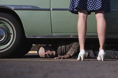 Joshua Hoffine's new photography project called PARKING LOT! (Nov. 2016)