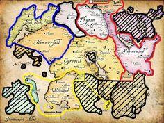The Elder Scroll Map