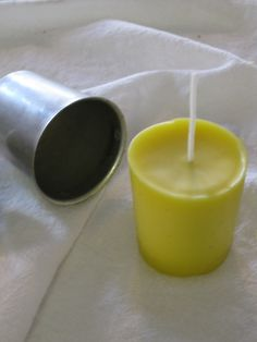 how to make pure beeswax candles. 'placed my wax blocks into an old milk jug and then placed the jug into a boiling water bath.'-- nice to not ruin pans. Beeswax is hard to remove.
