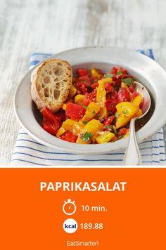 Paprikasalat - smarter - Kalorien: 189.88 Kcal - Zeit: 10 Min. | eatsmarter.de