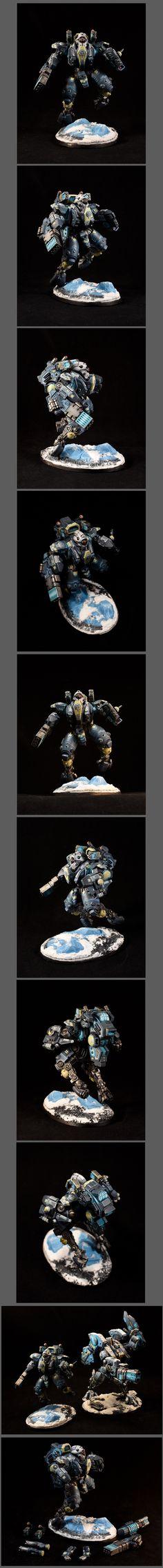 Tau Ghostkeel XV95 Battlesuit