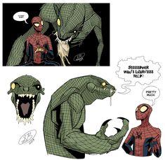Marvel Art, Marvel Heroes, Animated Bee, Spiderman Kunst, Spiderman Sketches, Drawing Now, Hobgoblin, Superhero Design, Meet The Artist