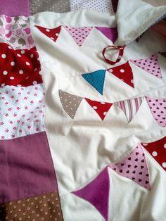 """Babydecken - Babydecke, """"Wimpelchen"""" - ein Designerstück von WaldundWiesenkinder bei DaWanda"""
