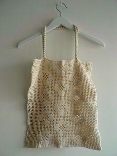 Cotton Crochet Shopping Bag