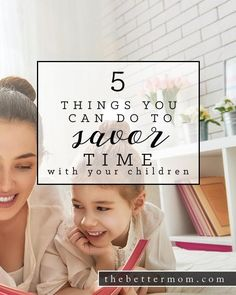 As the saying goes about motherhood, the days are long but the years are short right? These days DO go fast and often, as older moms, we can live in the past and neglect the fun and memories to be made today. Here are some ways to savor the times you have with your children at any age or stage!