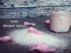 Items similar to Rose Shower Scrub. on Etsy