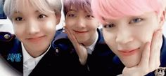 bts aegyo 애교 jimin namjoon j-hope Namjoon, Taehyung, Hoseok, Bts Aegyo, Jimin Jungkook, Fan Fiction, Rap Monster, Yoonmin, Wattpad