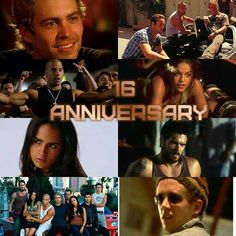 Happy 16th anniversary to the film that started it all and my obsession with speed!!! #TheFastandtheFurious #fastandfurious #PaulWalker #VinDiesel #Jo... - Selina Letty Felicity Haliwell (@goddesslenalove18)
