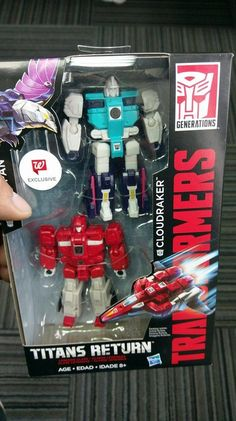 RETURN TO WALGREENS - Titans Return Cloudraker & Wingspan Set To Be Walgreens Exclusive