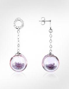 Antica Murrina Shine - Murano Glass Ball Drop Earrings