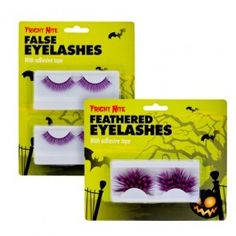 these will certinly tickle my fancy Creepy Halloween, Halloween Fancy Dress, Halloween Costumes, Feather Eyelashes, False Eyelashes, Halloween Accessories, The Incredibles, Tights, Nails