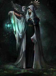 Enchantress by Julia Kovalyova art magic Fantasy Art Watch Fantasy Artwork, Fantasy Rpg, Medieval Fantasy, Fantasy Witch, Final Fantasy, Fantasy Magician, Lady Fantasy, Medieval Witch, Fantasy Fairies