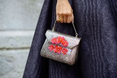 Not sure about how the latest micro bags off the runways for spring/summer 2017 will fit my cell phone but im loving this #adorable glittered handbag with roses. Via mytheresa.com   #handbag #fashion #handbags #lifestyle #gifts #gift #shop #shopnow #shop