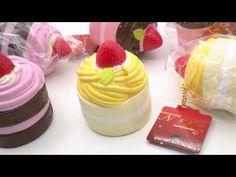 Premium Cafe de N light cream color yellow Mont Blanc cake squishy charm kawaii - Food Squishies - Squishies - kawaii shop modeS4u