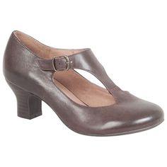 Miz Mooz Women's Trina T-Strap Pump Shoe