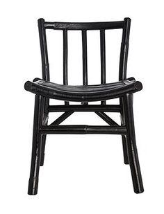 Kinderstuhl Wie die Großen so die Kleinen...den Kinderstuhl aus Bambus gibt es auch für Erwachsene und ist in grau und schwarz lieferbar, vo...