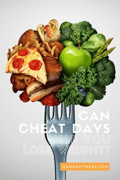 "It's pretty common for people on diets to take occasional ""cheat days"", but can they actually be beneficial to your diet? Find out the benefits of cheat days when dieting here - QandA Fitness - #fitness #CheatDays #diet #WeightLossHelp"