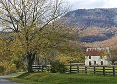 """""""Farm Lane in Luray, Virginia"""" (Shenandoah Valley in Page County) by Bill Knarr (featured in the Richmond Times-Dispatch on August 15, 2015). FUN FACT: This is a 2015 Virginia Vistas Photo Contest Honorable Mention winner in our Farms & Open Space Category. ENJOY!! #VirginiaVistas"""