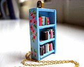 bookcase necklace