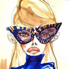 Fashion Illustrations #fashion #illustrations #sketch by Blair Breitenstein
