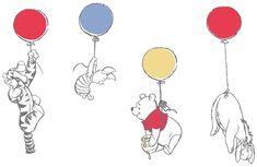 Ideas Wallpaper Disney Desktop Winnie The Pooh Whinnie The Pooh Drawings, Winnie The Pooh Tattoos, Cute Winnie The Pooh, Winne The Pooh, Winnie The Pooh Quotes, Images Disney, Disney Art, Disney Drawings, Cute Drawings
