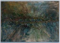 "Saatchi Art Artist Jana Trn; Painting, ""THROUGH THE SURFACE"" #art"