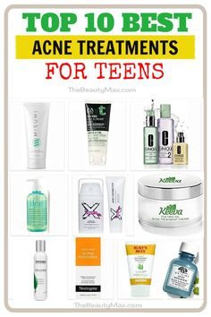 The most comprehensive, updated list of the best acne treatments for teens ( boys & girls). Easily discover the best teenage acne products designed for your skin! Click the image for more detail. Best Acne Treatment, Acne Treatments, How To Cure Pimples, Teenage Acne, Natural Oils For Skin, Best Acne Products, Pimples Remedies, Types Of Acne, Teen Boys