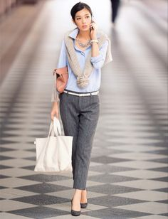 Business Attire, Office Fashion, Western Wear, Fashion Outfits, Womens Fashion, Work Wear, Casual, Style Inspiration, Clothes For Women