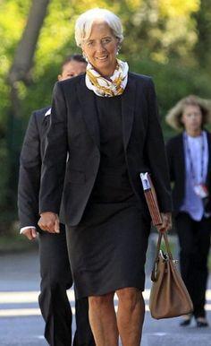 RUE CINQ Inspiration - Managing Director of IMF Christine Lagarde www.ruecinq.com