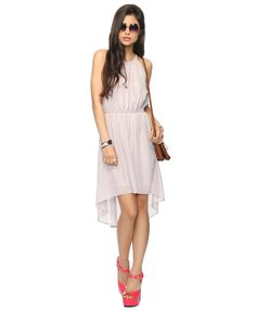 Shimmering High-Low Dress   FOREVER21 - 2000037172 -- Super cute!
