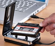 We have a lot of old cassettes so this would be useful to play them!