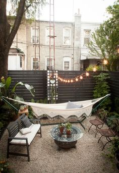 Beautiful outdoor party space