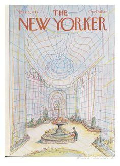 The New Yorker Cover - March 5, 1979 Regular Giclee Print di Paul Degen su AllPosters.it