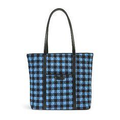 Vera Bradley Trimmed Vera Tote Bag