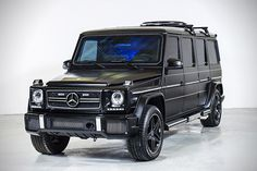 INKAS Armored Mercedes G63 AMG Limo