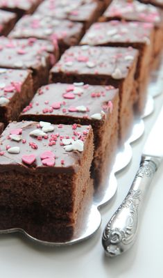 Mehevät mokkapalat timanttimaarit: haven't tested these yet. Baking Recipes, Cake Recipes, Sweet Pie, Valentines Food, Happy Foods, Sweet And Salty, I Love Food, Sweet Recipes, Sweet Treats