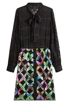 Anna Sui - Dress with Silk