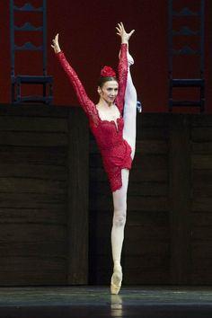 Svetlana Zakharova in Carmen Suite