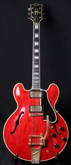 1960 Gibson ES-355TDC Factory Mono Byrdland Scale Cherry OHSC PAF's