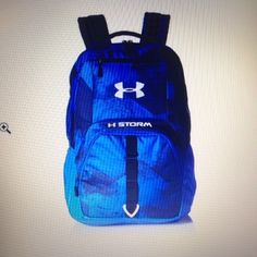 098e088d5faf Under Armour Backpack Blue Scatter One Size Free Shipping  shopsmall BUY  NOW  74.99 Under Armour