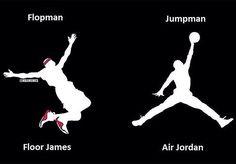 NBA MEMEs: LeBron James vs. Michael Jordan: Logo Edition! #FloorMan… - http://weheartlakers.com/nba-memes/nba-memes-lebron-james-vs-michael-jordan-logo-edition-floorman