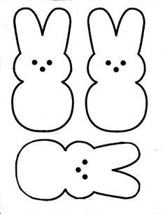 Easter Peeps Patterns