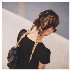 Super Pretty Hairstyles to Try This Year Trendy Hairstyles, Braided Hairstyles, Hair Inspo, Hair Inspiration, Ombre Look, Blond Ombre, Looks Pinterest, Hair Day, Gorgeous Hair