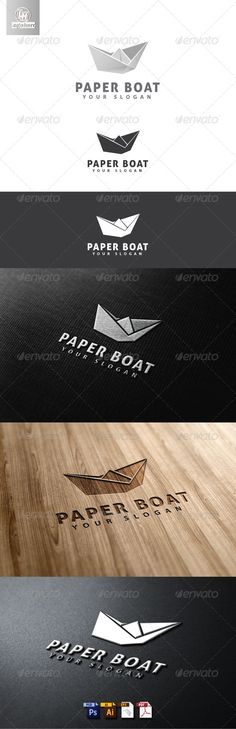 Paper Boat Logo Template  #GraphicRiver         Paper Boat Logo Template is An excellent logo template highly suitable for logo company, office, organization, studio, Production and other  	 These files consists of resizable vector format files like AI, EPS , and PDF . Also PSD format for raster version alternative.  	 font used Aller  	 thank and enjoy, don't for gate to rate      Created: 8May13 GraphicsFilesIncluded: PhotoshopPSD #VectorEPS #AIIllustrator Layered: Yes…