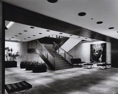 Philip Johnson's Four Seasons restaurant in NYC's Seagram's Building has remained relatively unchanged since 1959.